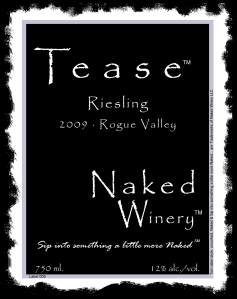 Naked Winery Tease