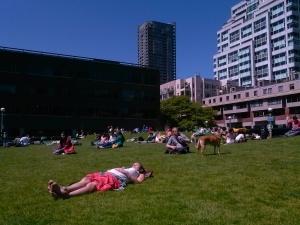 Park near Pike Place Market