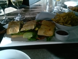 BLTA at Purple Cafe