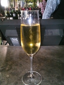 Bubbly at Purple Cafe