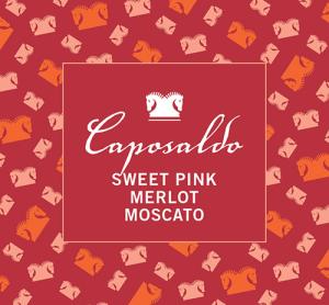 Caposaldo Sweet Pink Merlot Moscato