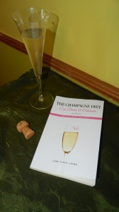 Champagne Diet and glass