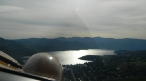 Sea Plane over Lake Chelan