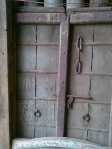 Old salvaged doors